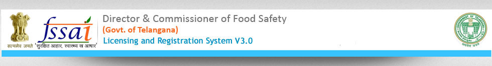 FSSAI-(Telangana)-Information about Food Safety Department